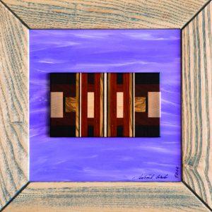 Quadro moderno legno colore 2