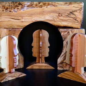 Scultura profilo legno