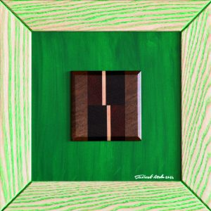 "Quadro ""Brown & Green"""