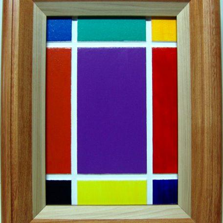 Quadro mosaico di colori