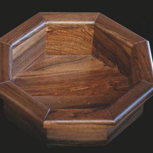 """Contenitore """"Ottagonale"""" in legno massello"""