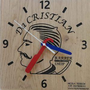 Orologio Barber shop Personalizzabile