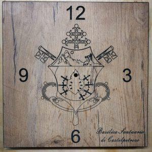 Logo vescovile laser