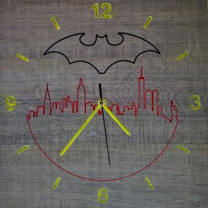 OROLOGIO BATMAN SU NEW YORK