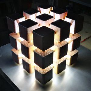 Lampada Cube